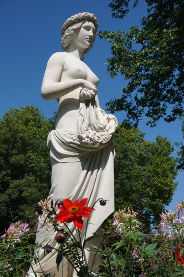 In the gardens at Sanssouci